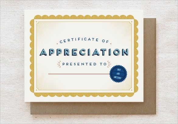 Sample Thank You Certificate Template - 10+ Documents Download in ...