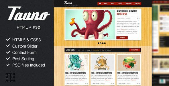 54 Beautiful HTML5 Portfolio Website Templates | Web & Graphic ...