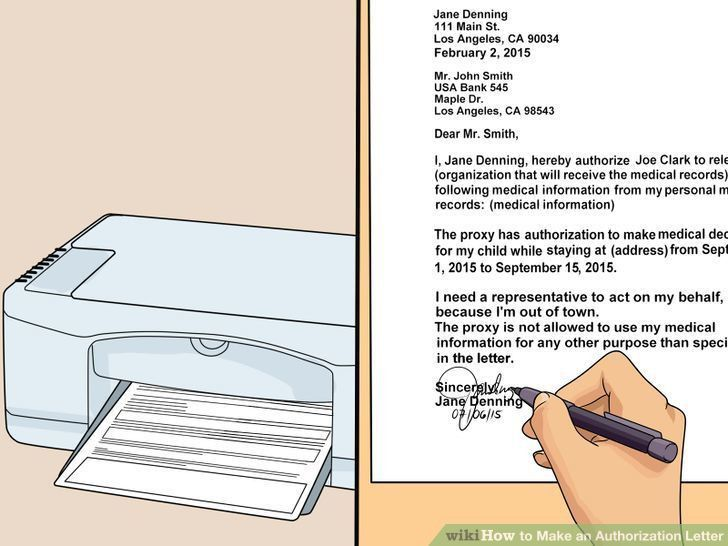 Pet & Animal: How to Make an Authorization Letter