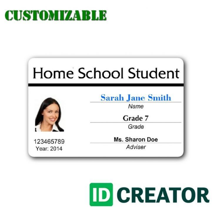 teacher id card template free | Best & Professional Templates