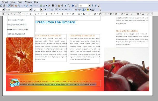 How To: Make a Brochure in Open Office - Printaholic.com
