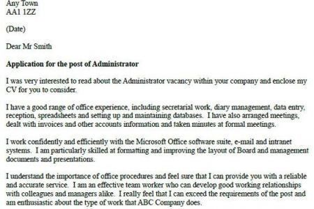 Family Support Worker Cover Letter