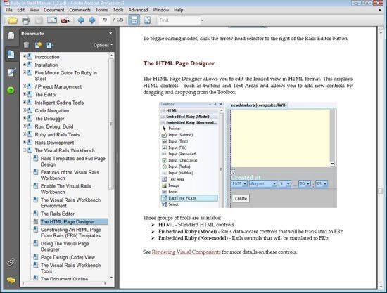 SapphireSteel Software: The Ruby In Steel User Guide