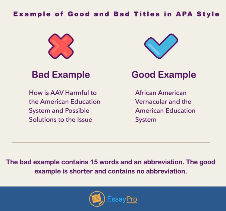 APA Style Essay Format: Examples, Outline | EssayPro