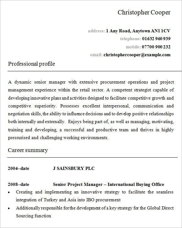 Retail Manager Resume Examples. Retail Assistant Manager Resume ...