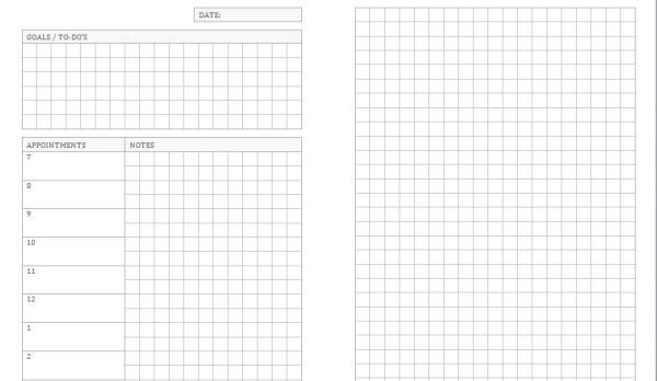 More new planner templates uploaded! | Calvin Was Right