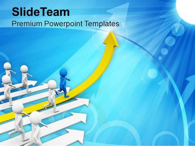 Leading a Team Goals And Achievement Powerpoint Templates PPT Them ...