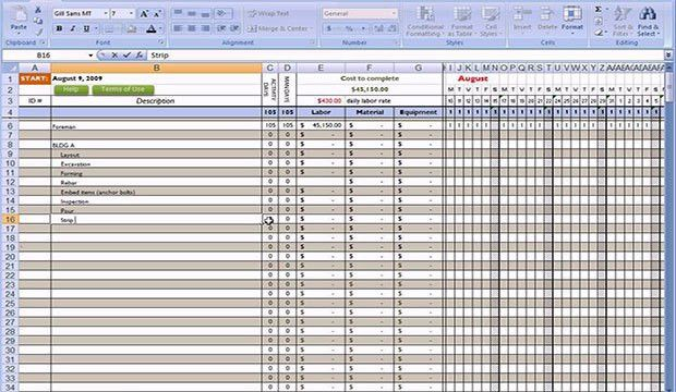 free excel construction templates | free construction estimate ...