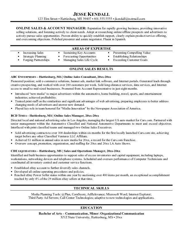 Sample Resume General Manager Car Dealership - Templates
