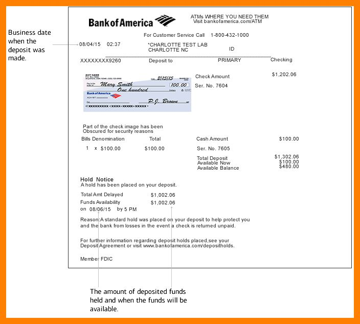 4+ bank of america bank statement template | army memo format