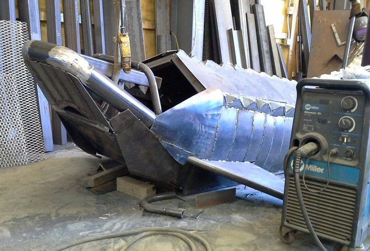 Fabricator delivers a big fish story - The Fabricator