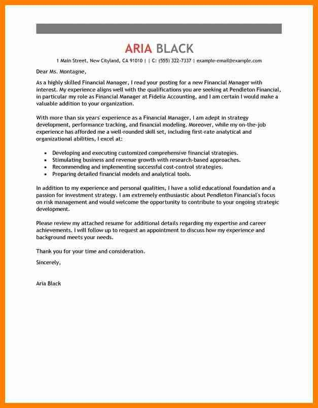 Modeling cover letter no experience