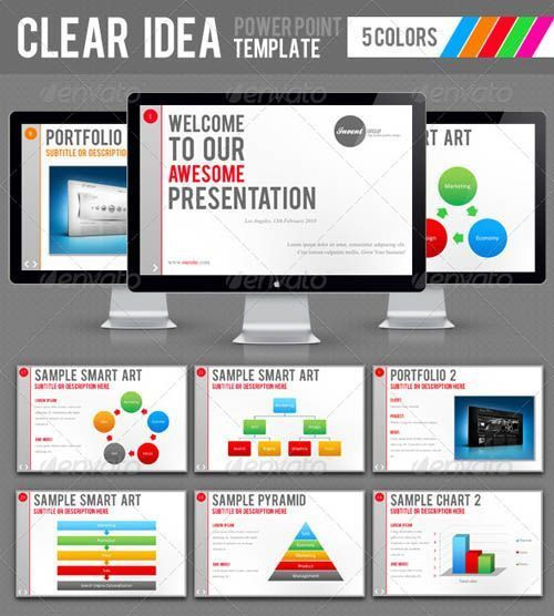 A (new) free high impact corporate presentation template from ...