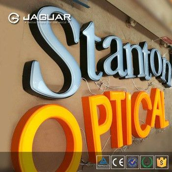 Outdoor Advertising Diy Led Backlit Channel Letter Sign,Light Box ...