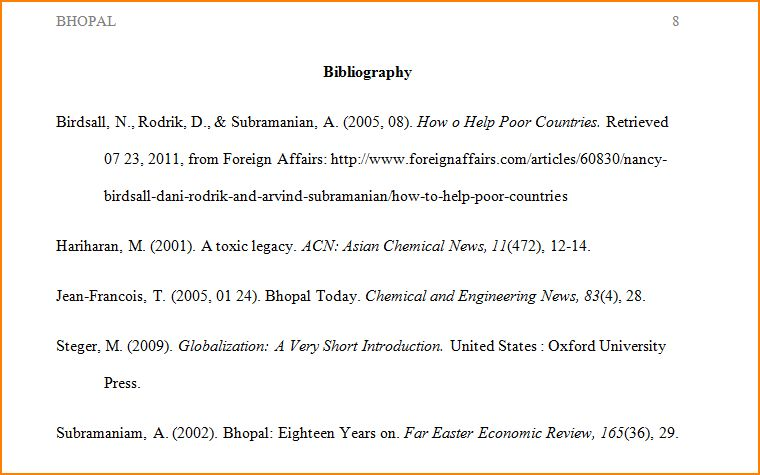 7+ bibliography apa format example | bibliography format