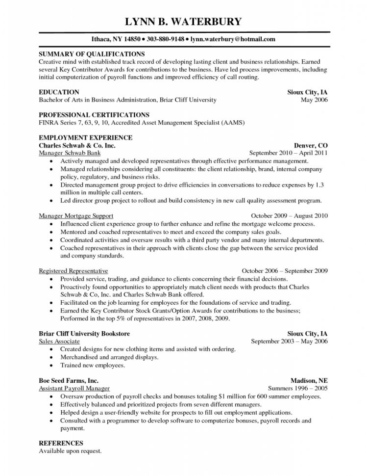 Financial Planner Resume Sample Financial Advisor Assistant Resume ...