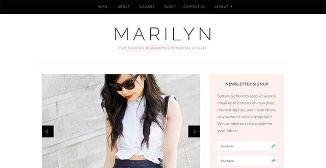 15 Best WordPress Fashion Themes In 2015 ~ Free WordPress Themes ...