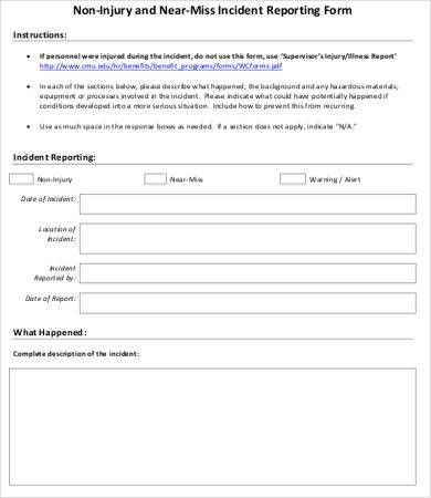 Incident Report Form - 10+ Free Word, PDF Documents Download ...