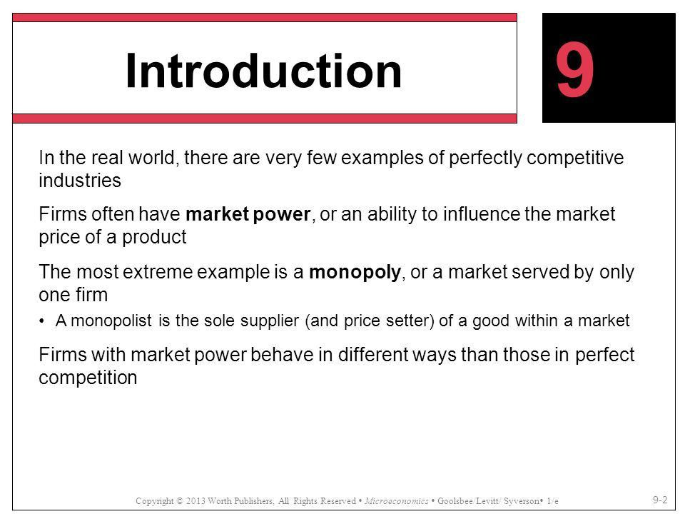 Market Power and Monopoly - ppt download