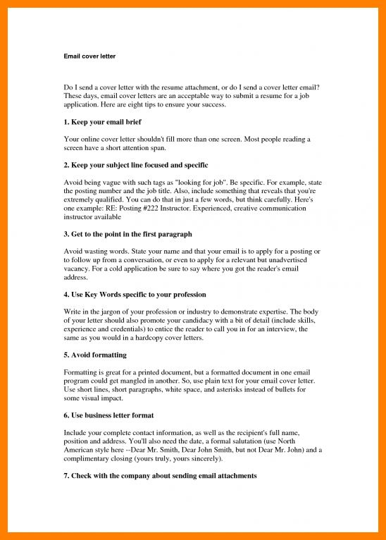 cover letter in email body resume cv cover letter. how to send the ...