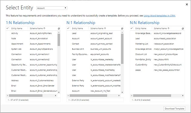 Using Word templates in Dynamics 365 | Microsoft Dynamics 365