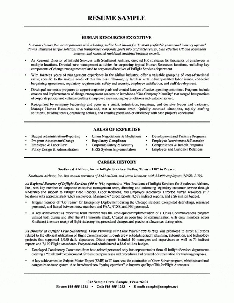 Winsome Inspiration Hr Director Resume 11 Resume Examples Hr Human ...