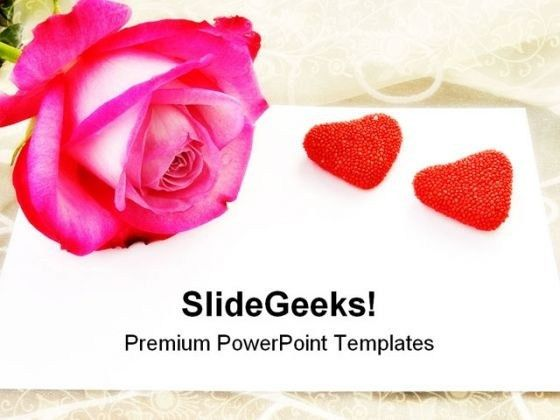 Love Letter Rose Wedding PowerPoint Templates And PowerPoint ...