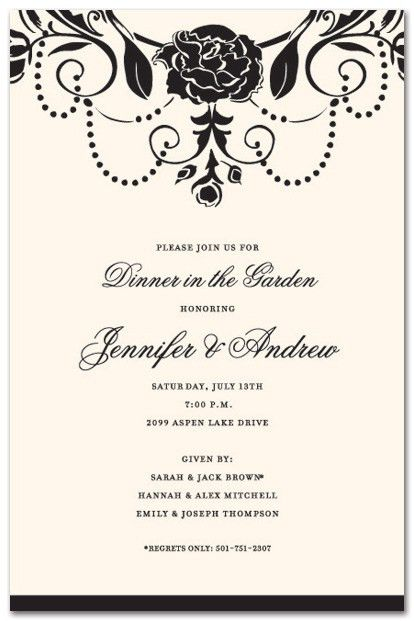 Great Formal Invitations Sample Design Ideas Wedding Invitation ...