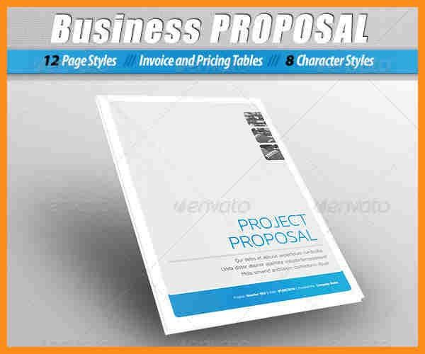 Free Business Proposal Templates, 32 sample proposal templates in ...