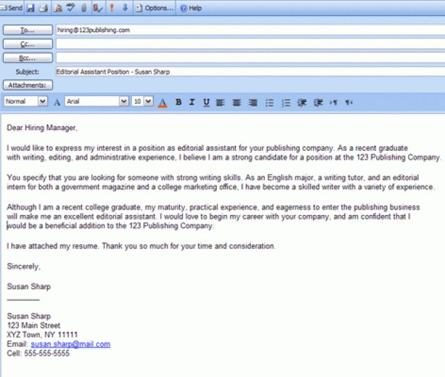 cover letter screenshot thumbnail short stylish cover letter job ...