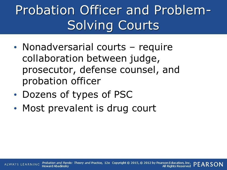 10 Special Issues and Programs in Probation and Parole. - ppt download