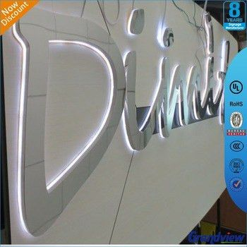 Outdoor Diy Led Backlit Mirror Wall Letters - Buy Mirror Wall ...