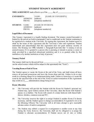 UK Residential Tenancy Forms | Legal Forms and Business Templates ...