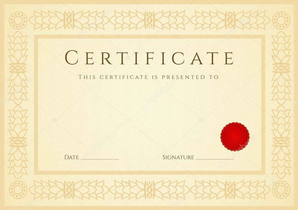 Sample Certificate Of Authenticity. Sample Bank Letter Certificate ...