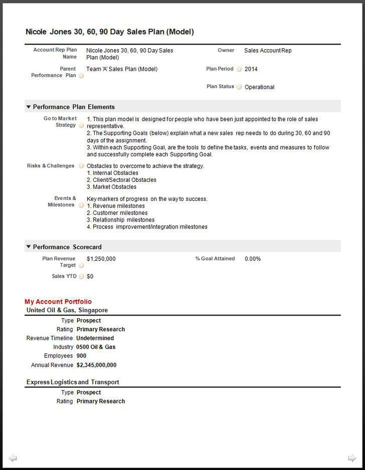 Account Plan Template. Strategic Plan Template - 10+ Free Word ...