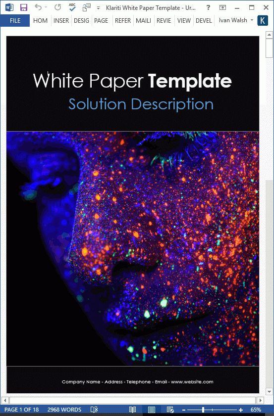 Origin of White Papers