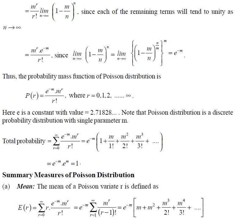 POISSON DISTRIBUTION - POISSON DISTRIBUTION free tutorial (9952 ...