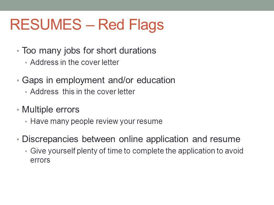 NURSING APPLICATIONS, RESUMES & COVER LETTERS. APPLICATIONS- What ...
