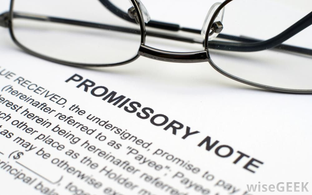 How Do I Write a Promissory Note? (with picture)