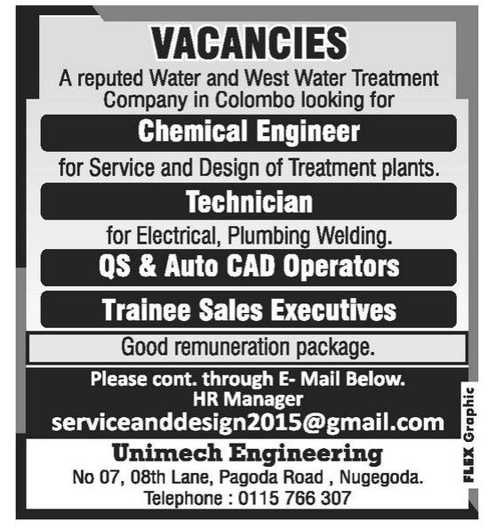 Chemical Engineer,jobs vacancies in sri lanka, top jobs,topjobs ...