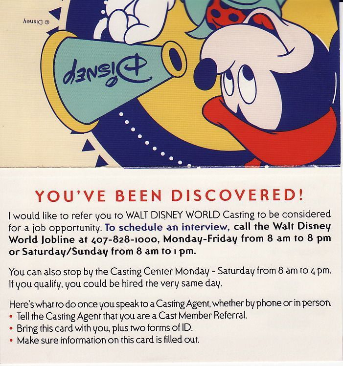 Mouseplanet - How To Get A Job At Walt Disney World by Jeff Kober