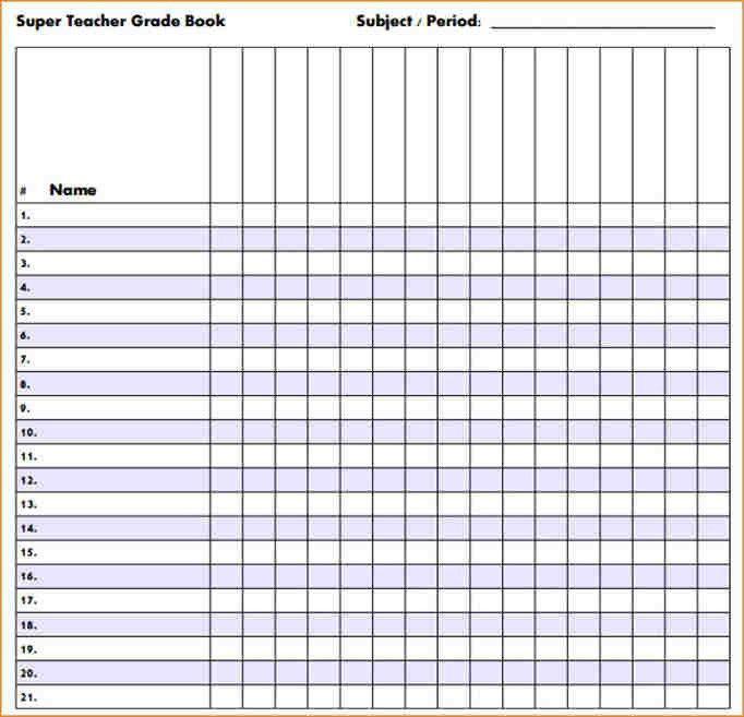 6+ grade sheet template | academic resume template