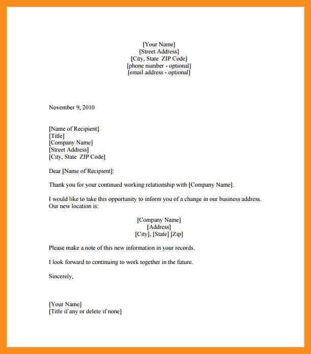 7+ address on letter format | resume setups