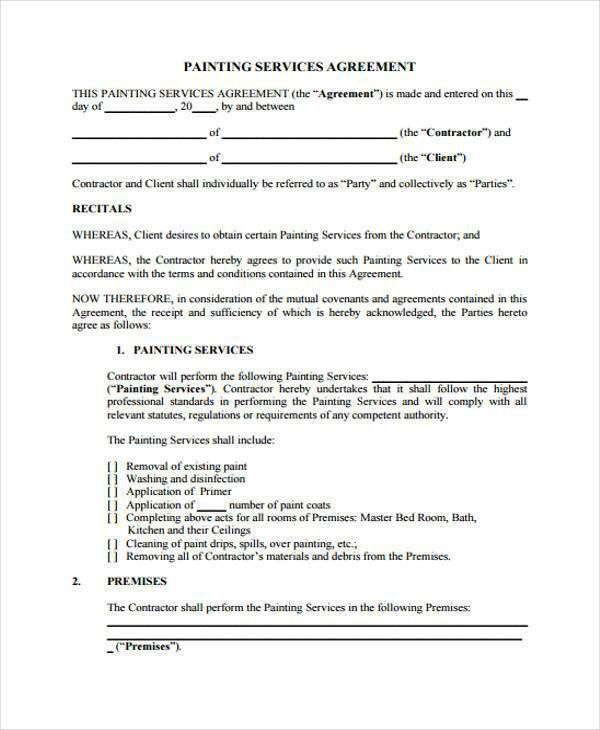 Sample Service Contract Agreement Forms - 6+ Free Documents in ...