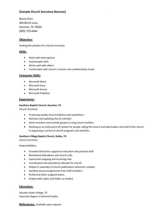 The Awesome Computer Skills On Resume Sample | Resume Format Web