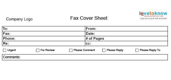 Sample Fax Cover Sheet. Free Fax Cover Letter Template Fax ...
