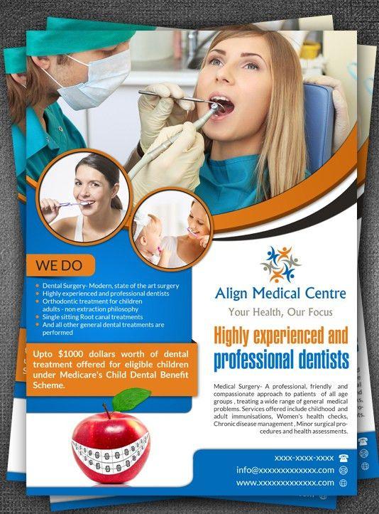 18 Upmarket Elegant Dental Flyer Designs for a Dental business in ...