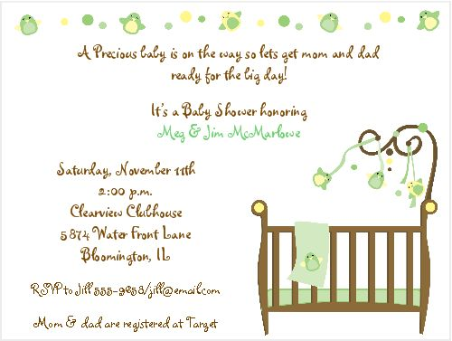 Gender Neutral Baby Shower Invitations | christmanista.com