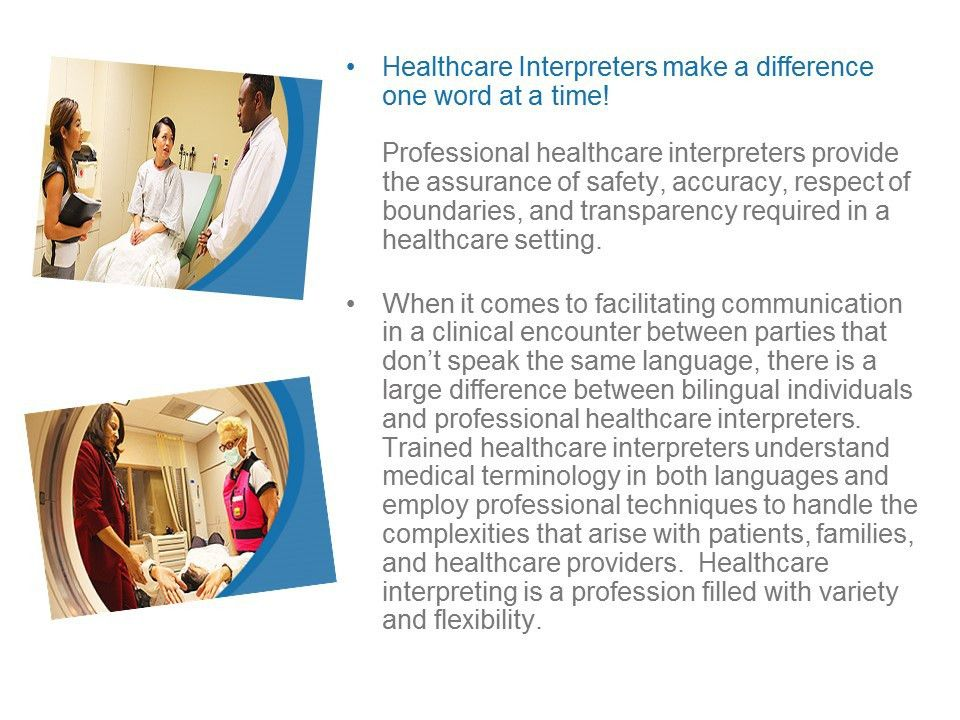 Medical Interpreter - Spanish | EMCC