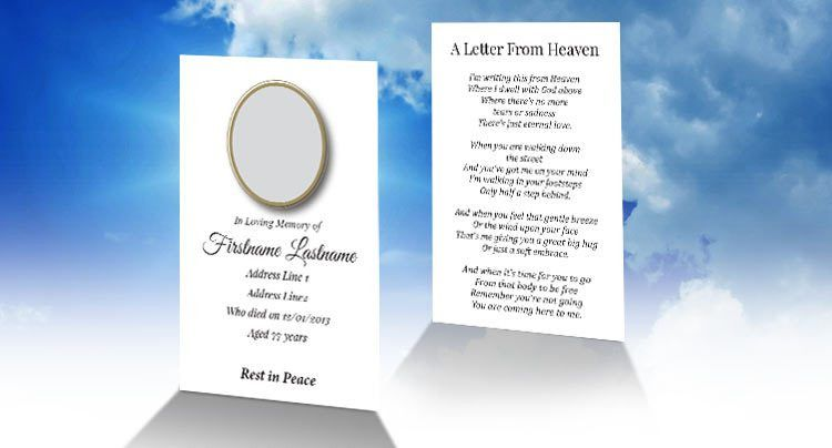 Free Wallet Memorial Card Template in InDesign Format - Download ...